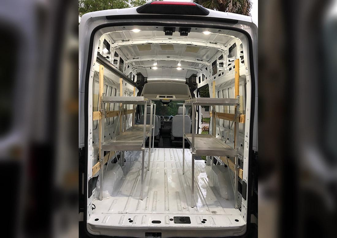 Prf Cargo Van Shelving Unit Prf Shelving Solutions